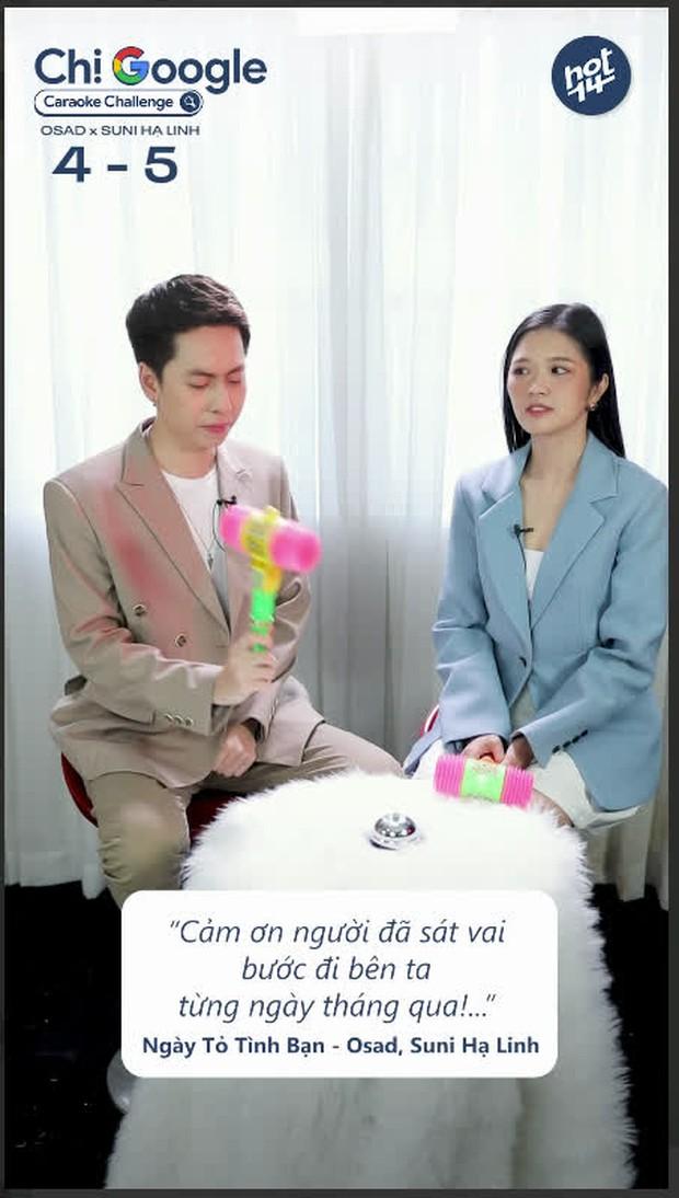 """Osad quên tên một chút thôi khi thể hiện hit của đàn anh Soobin Hoàng Sơn, Suni Hạ Linh vội bấm chuông nhưng """"biết gì đâu""""! - Ảnh 7."""