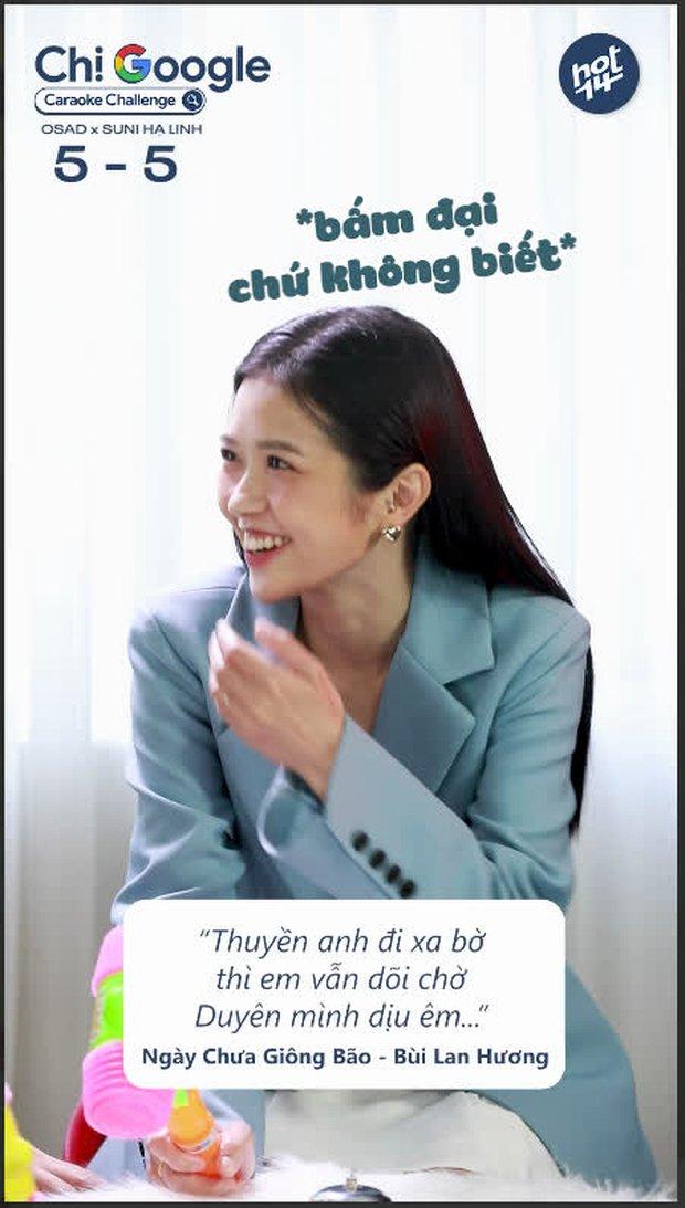 """Osad quên tên một chút thôi khi thể hiện hit của đàn anh Soobin Hoàng Sơn, Suni Hạ Linh vội bấm chuông nhưng """"biết gì đâu""""! - Ảnh 8."""