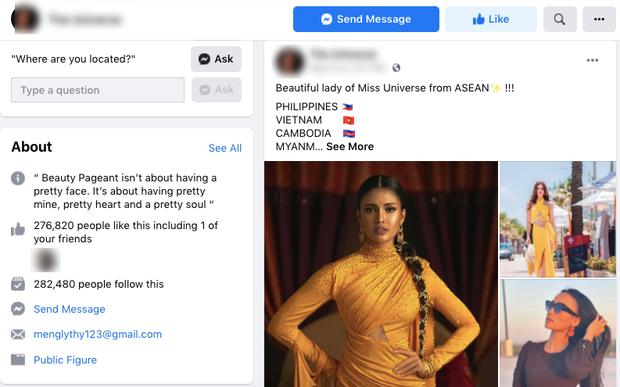 Cảnh báo: Xuất hiện fanpage Miss Universe giả mạo kêu gọi vote ảo cho Khánh Vân để câu like, khiến trăm nghìn fan đổ xô bình chọn - Ảnh 2.