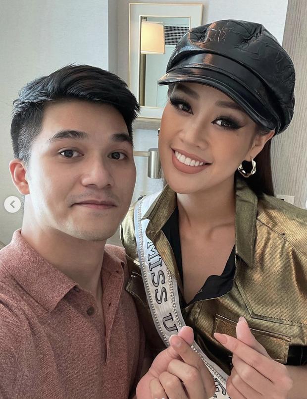 """Khánh Vân """"tức"""" vì bị 1 nhân vật chiếm spotlight ở Miss Universe, hot đến mức cả dàn Hoa hậu nước bạn rần rần hỏi thăm - Ảnh 3."""