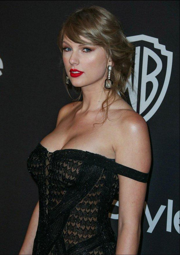 Taylor Swift lột xác ngoạn mục trên thảm đỏ nhờ giảm cân: Visual đỉnh body nuột hẳn, nhưng vòng 1 khủng biến đâu rồi? - Ảnh 16.