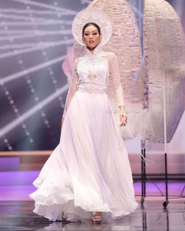 Phản ứng bất ngờ của khán giả quốc tế trước màn trình diễn Quốc phục của Khánh Vân và sự cố Kén Em ở Miss Universe - Ảnh 6.