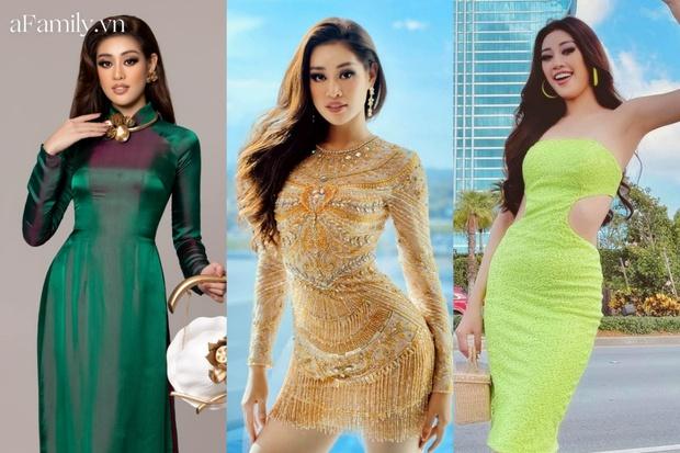 3 chiến thuật thời trang cao tay của Khánh Vân tại Miss Universe: Dân tình vừa tự hào lại vừa đồng cảm - Ảnh 1.