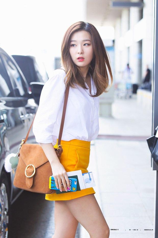 Seulgi là chuyên gia lên đồ với áo trắng, cách mix rất đơn giản nhưng sành điệu hết chỗ chê - Ảnh 12.