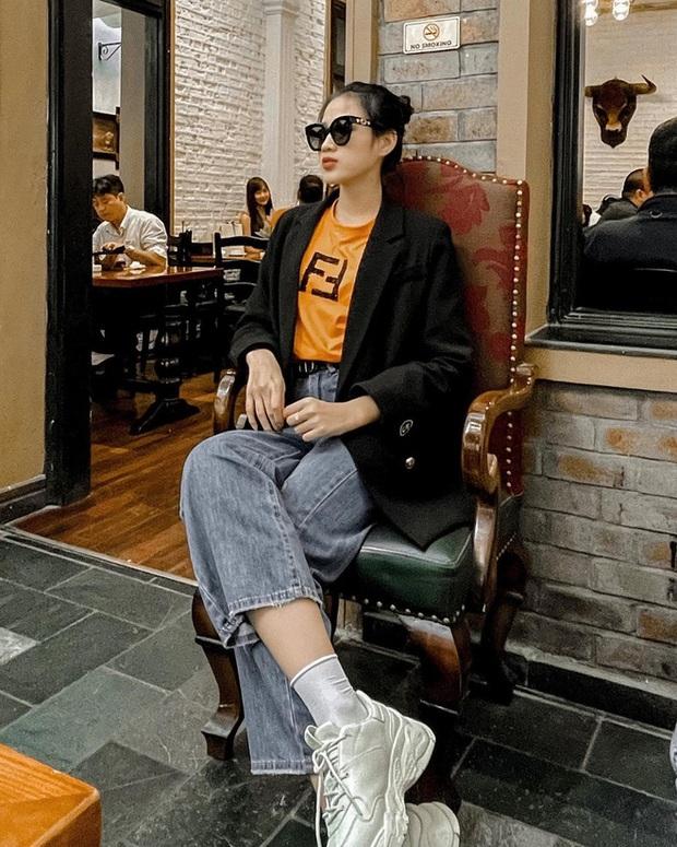 Kiểu tóc và trang điểm liên tục lệch pha với outfit, bảo sao HH Đỗ Hà vẫn chưa gia nhập vào hội mỹ nhân cool ngầu của showbiz Việt được - Ảnh 3.
