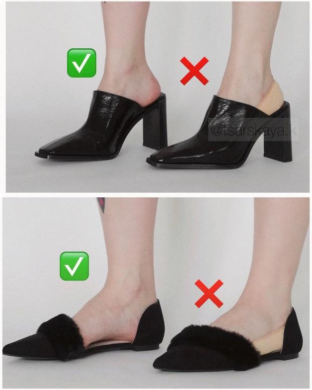 Một lỗi sai khi đi giày/sandals mà nhiều chị em không để ý nhưng lại khiến trang phục kém sang trầm trọng - Ảnh 4.