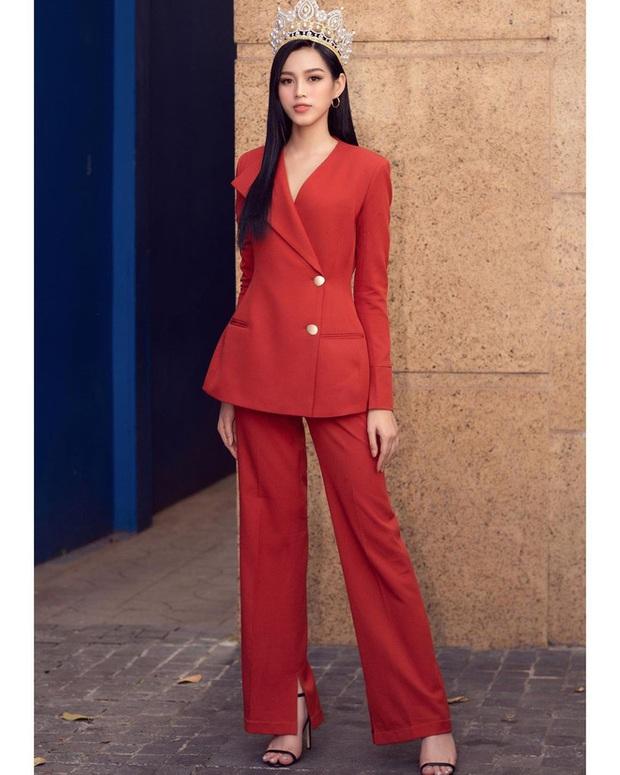Kiểu tóc và trang điểm liên tục lệch pha với outfit, bảo sao HH Đỗ Hà vẫn chưa gia nhập vào hội mỹ nhân cool ngầu của showbiz Việt được - Ảnh 6.