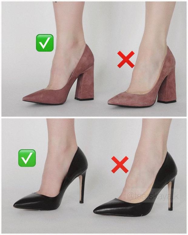 Một lỗi sai khi đi giày/sandals mà nhiều chị em không để ý nhưng lại khiến trang phục kém sang trầm trọng - Ảnh 5.