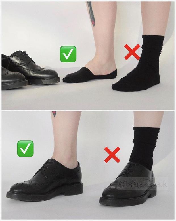 Một lỗi sai khi đi giày/sandals mà nhiều chị em không để ý nhưng lại khiến trang phục kém sang trầm trọng - Ảnh 6.