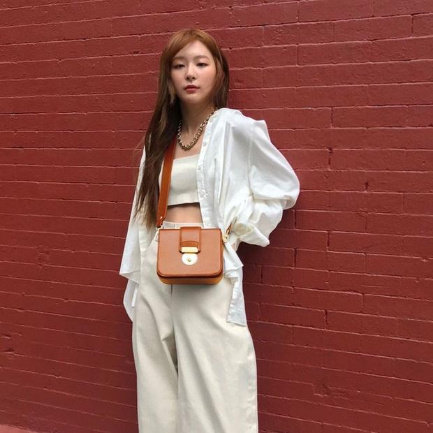 Seulgi là chuyên gia lên đồ với áo trắng, cách mix rất đơn giản nhưng sành điệu hết chỗ chê - Ảnh 8.