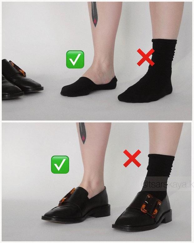 Một lỗi sai khi đi giày/sandals mà nhiều chị em không để ý nhưng lại khiến trang phục kém sang trầm trọng - Ảnh 7.