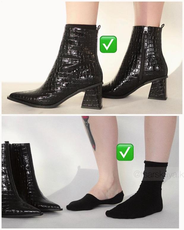 Một lỗi sai khi đi giày/sandals mà nhiều chị em không để ý nhưng lại khiến trang phục kém sang trầm trọng - Ảnh 8.
