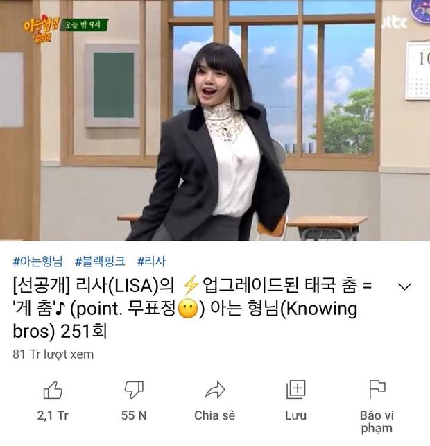 Knet trầm trồ vì sức hút của Lisa: Tấu hài mà view khủng như MV, đi show Mnet cầm chắc No.1! - Ảnh 3.