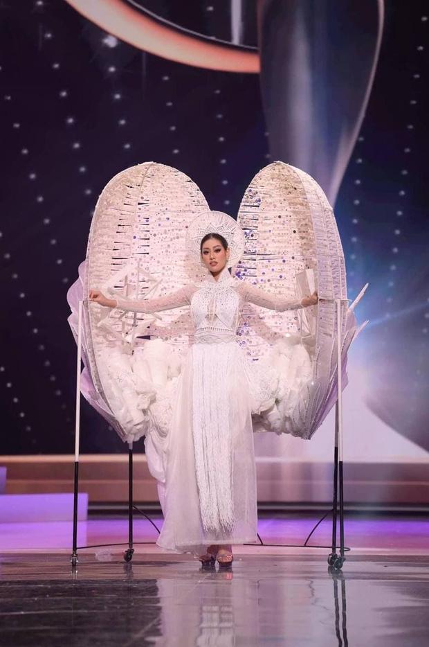 Khánh Vân lên hẳn 2 story Instagram của Miss Universe sau màn trình diễn trang phục dân tộc - Ảnh 5.
