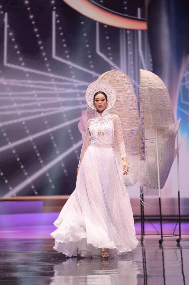 Khánh Vân lên hẳn 2 story Instagram của Miss Universe sau màn trình diễn trang phục dân tộc - Ảnh 6.
