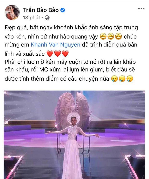 """BB Trần """"bóc trần"""" sự cố Quốc phục của Khánh Vân tại Miss Universe, tiếc nuối vì đại diện Việt Nam không tung cú """"twist"""" này? - Ảnh 4."""