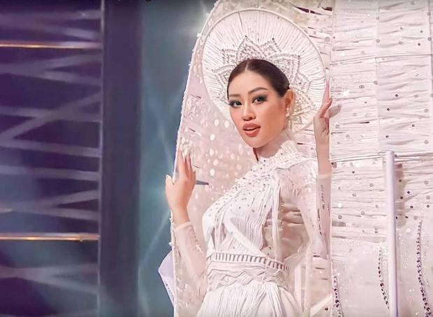 Ai bảo thi Hoa hậu là sướng? Nhìn Khánh Vân khổ luyện với xích sắt khổng lồ thấy mà thương - Ảnh 2.