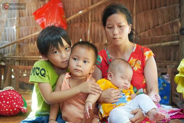 Chồng bỏ lúc mang thai, người mẹ bất lực nhìn 3 đứa con thơ khát sữa, cha già bệnh tật mà thiếu tiền chữa trị - Ảnh 13.