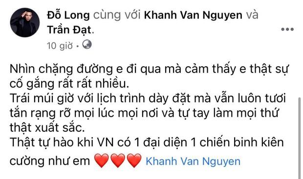 Cả Vbiz hướng về Khánh Vân trong đêm Bán kết Miss Universe: H'Hen Niê - Tóc Tiên động viên, dàn sao ráo riết kêu gọi vote - Ảnh 15.