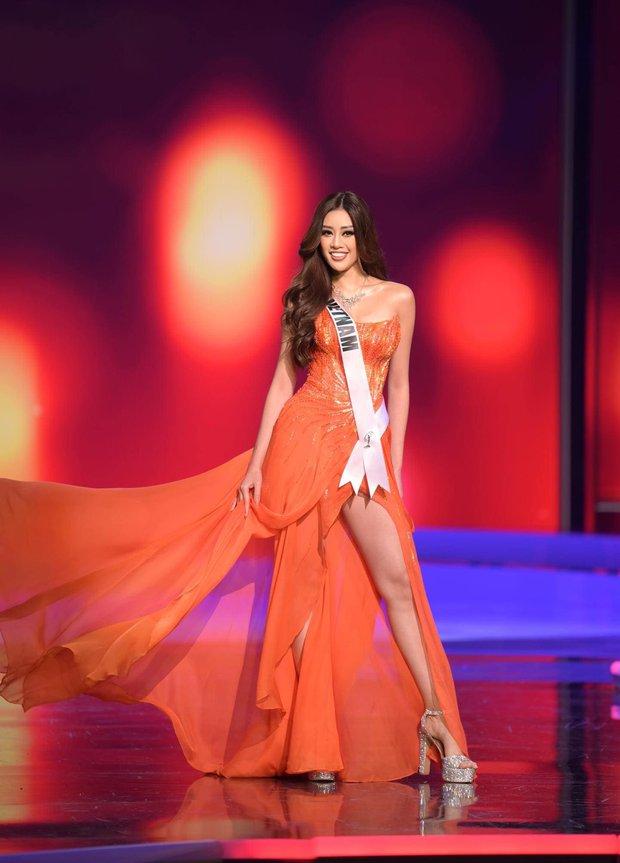 Cả hành trình mạnh mẽ nhưng Khánh Vân lại bật khóc sau đêm Bán kết Miss Universe, lý do khiến ai cũng xúc động - Ảnh 7.