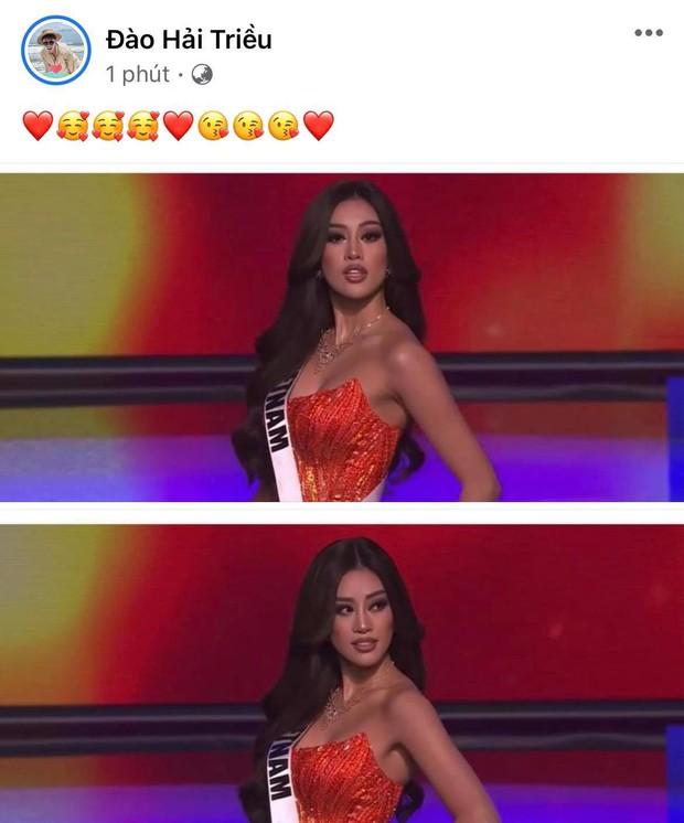 Cả Vbiz hướng về Khánh Vân trong đêm Bán kết Miss Universe: H'Hen Niê - Tóc Tiên động viên, dàn sao ráo riết kêu gọi vote - Ảnh 4.