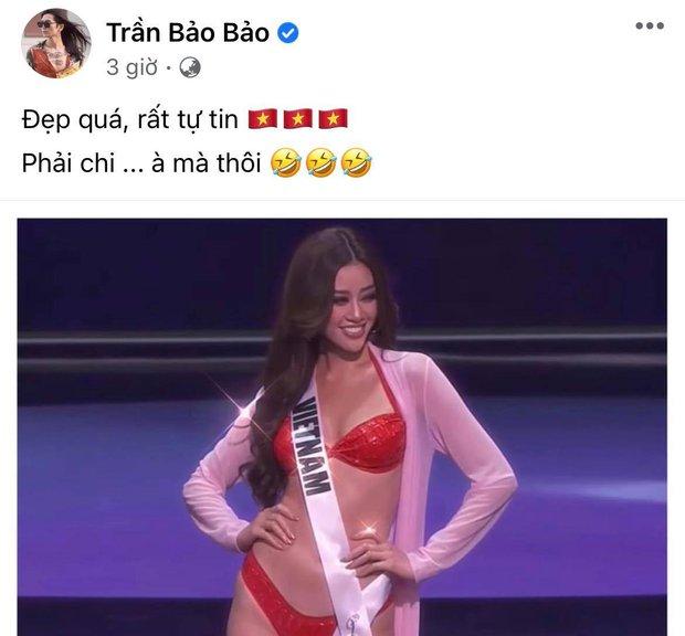 """BB Trần lầy lội """"cà khịa"""" phần trình diễn của Khánh Vân ở Bán kết Miss Universe, đề ra chiến lược nghe muốn xỉu ngang - Ảnh 2."""