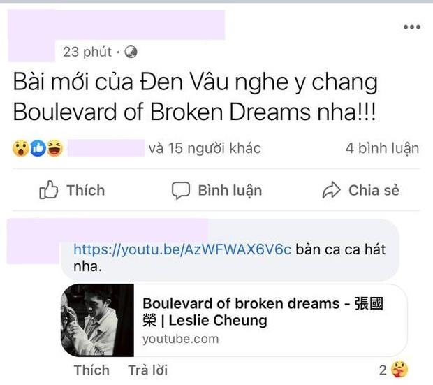 Giai điệu Trốn Tìm của Đen Vâu và MTV Band bỗng dính nghi vấn y chang ca khúc của ca sĩ Hong Kong Trương Quốc Vinh?  - Ảnh 5.