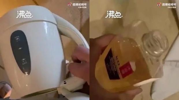 Quay clip tè bậy, khạc nhổ vào bình đun nước và chai sữa tắm ở khách sạn, chàng trai tuyên bố 1 câu xanh rờn khiến dân tình rợn người - Ảnh 2.