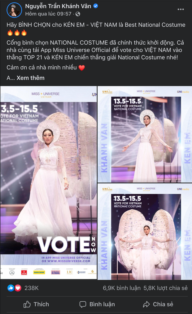 Lượt tương tác của Hoa hậu Khánh Vân bùng nổ trên mạng xã hội, từ nay hãy gọi cô ấy là Social Queen - Ảnh 7.