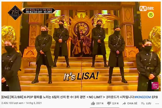 Chỉ 2 giây, Lisa cứu cả show của Mnet: Lượt xem gấp 160 lần fancam khác, khuấy đảo top trending - Ảnh 3.