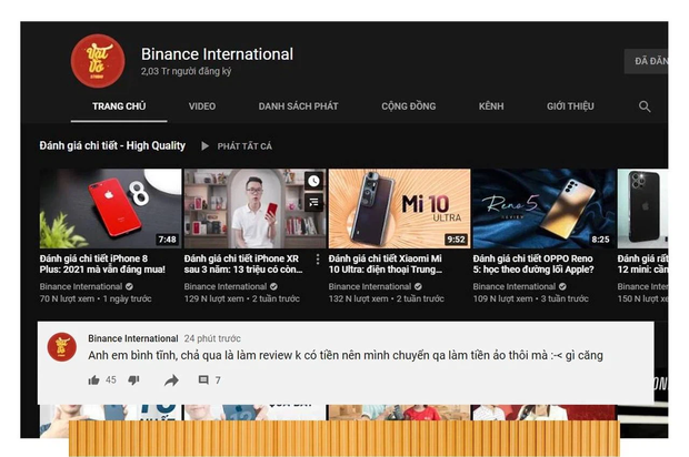 Kênh YouTube EvB Record của rapper Bray bất ngờ bay màu, đổi tên thành Cardano và đang livestream tư vấn mua tiền ảo - Ảnh 2.