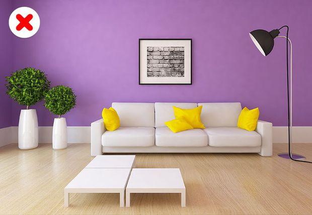 10 sai lầm phổ biến khi lựa chọn màu sắc thiết kế, lỗi nào cũng chứng tỏ gu thẩm mỹ của chủ nhà bằng 0 - Ảnh 5.