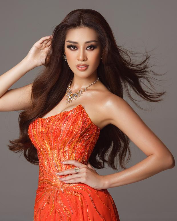 Cận cảnh trang phục dạ hội Khánh Vân diện tại Bán kết Miss Universe: Tinh xảo tôn trọn sắc vóc, bất ngờ ý nghĩa sâu sắc đằng sau - Ảnh 6.
