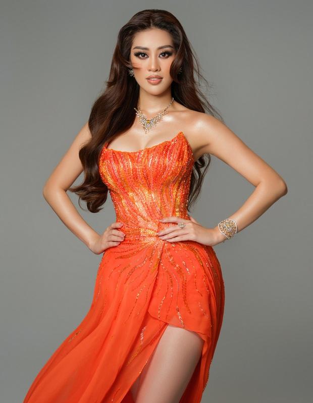 Cận cảnh trang phục dạ hội Khánh Vân diện tại Bán kết Miss Universe: Tinh xảo tôn trọn sắc vóc, bất ngờ ý nghĩa sâu sắc đằng sau - Ảnh 10.