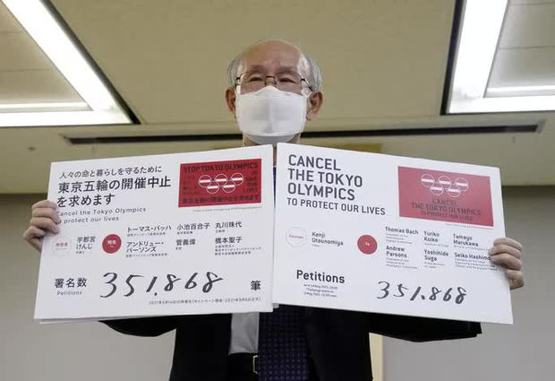 Bất an với Covid-19, người dân Nhật Bản đòi hủy Thế vận hội Tokyo - Ảnh 1.