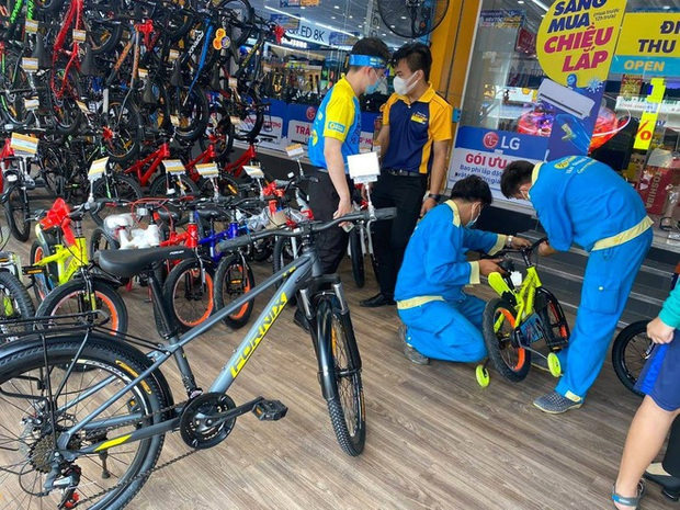 Thế Giới Di Động nhảy vào bán xe đạp - Ảnh 1.