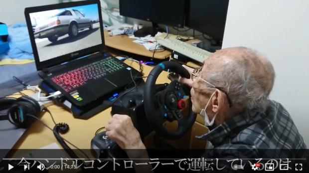 Game thủ Nhật Bản phá đảo đường đua ảo ở tuổi 93 - Ảnh 1.