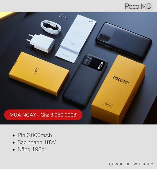 Sáu mẫu smartphone pin khủng từ 6.000mAh, rất hợp với team shipper, xe ôm công nghệ - Ảnh 1.
