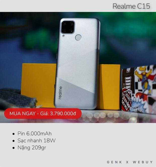 Sáu mẫu smartphone pin khủng từ 6.000mAh, rất hợp với team shipper, xe ôm công nghệ - Ảnh 2.