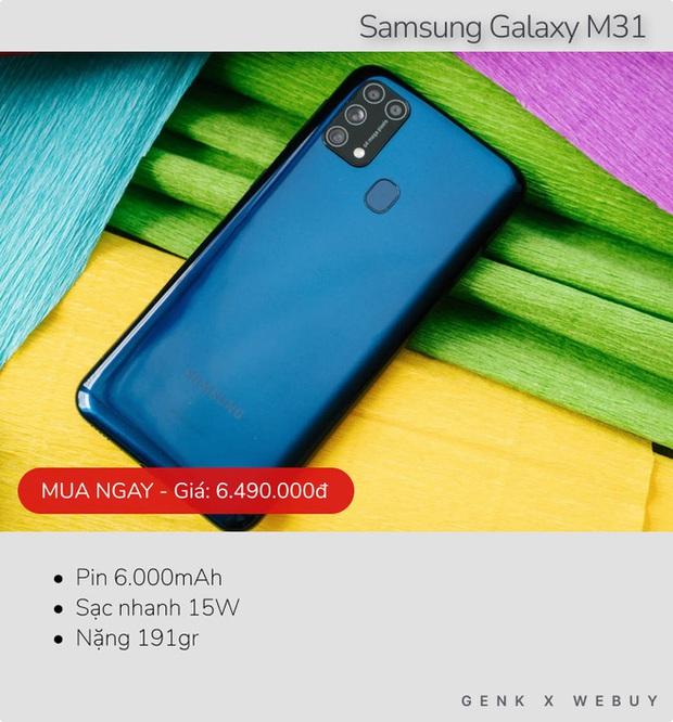 Sáu mẫu smartphone pin khủng từ 6.000mAh, rất hợp với team shipper, xe ôm công nghệ - Ảnh 4.