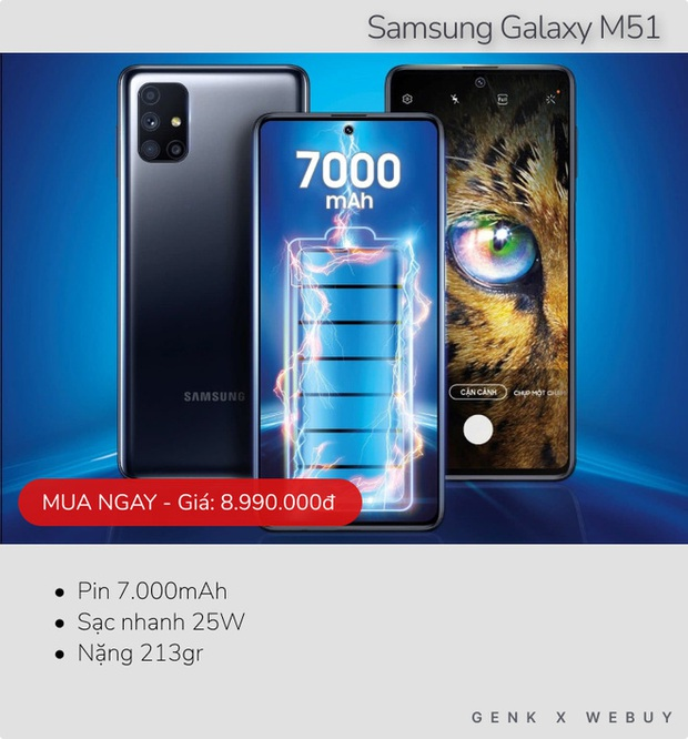 Sáu mẫu smartphone pin khủng từ 6.000mAh, rất hợp với team shipper, xe ôm công nghệ - Ảnh 5.