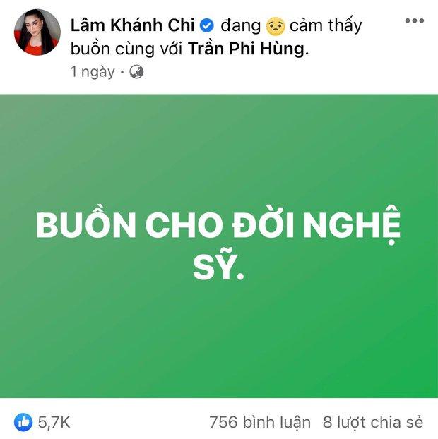 Bị netizen lôi tên vào cuộc chiến với bà Phương Hằng chỉ vì 1 status bóng gió, Lâm Khánh Chi liền có phản ứng - Ảnh 2.
