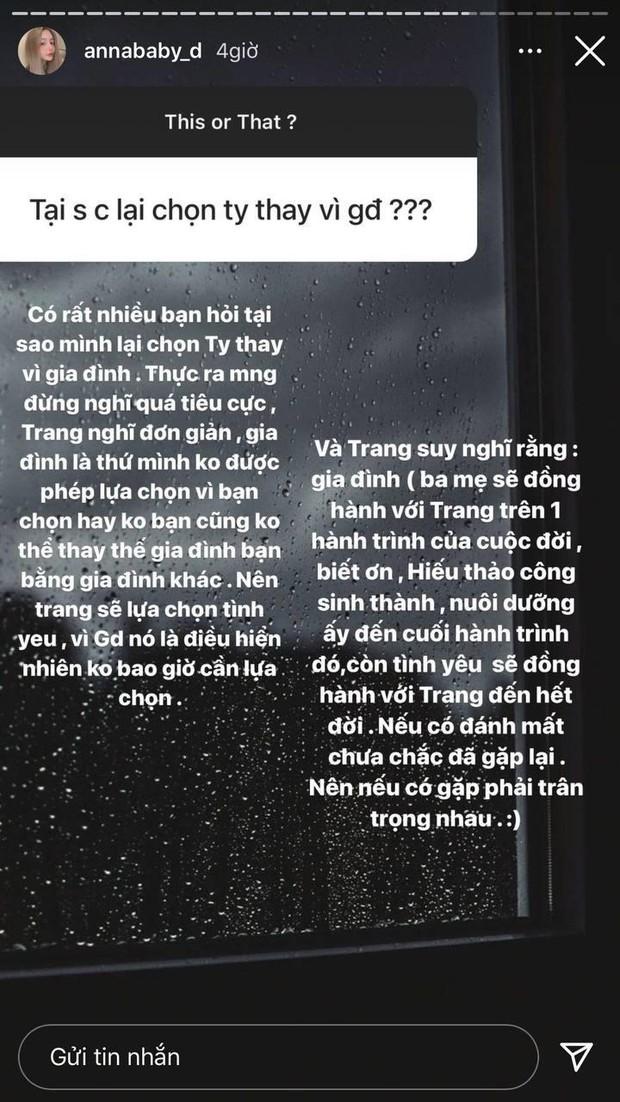 Trang Anna mạnh dạn chọn tình yêu thay vì gia đình, nghe giải thích cũng thấy xuôi tai - Ảnh 3.