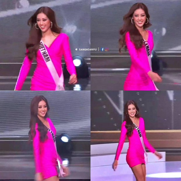"""Cập nhật Bán kết Miss Universe 2020: Dàn thí sinh """"chào sân"""" cực hoành tráng, Khánh Vân lộ diện đầy tự tin và nổi bần bật! - Ảnh 3."""