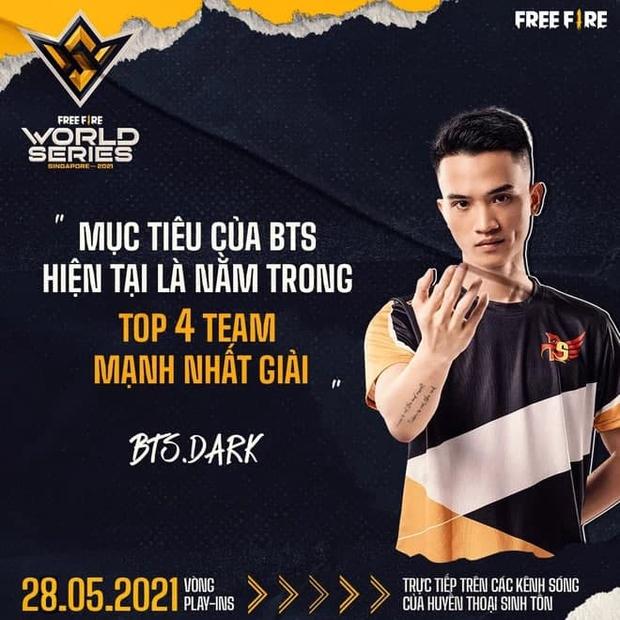 Phỏng vấn huyền thoại Free Fire Việt Nam Dark - Tuyển thủ 2 lần tham dự chung kết thế giới Free Fire - Ảnh 3.