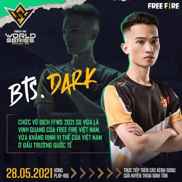 Phỏng vấn huyền thoại Free Fire Việt Nam Dark - Tuyển thủ 2 lần tham dự chung kết thế giới Free Fire - Ảnh 4.