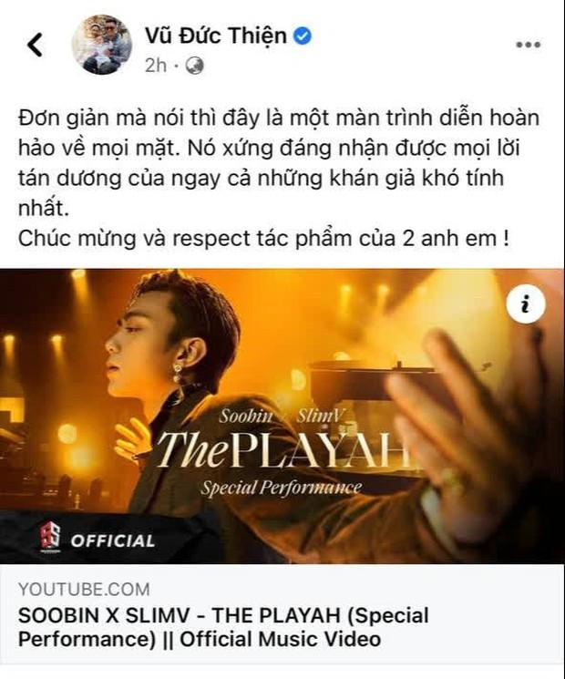 Soobin kết hợp Slim V làm mới E.P The Playah kiểu gì mà bị Binz hờn dỗi, Rhymastic khen còn netizen phản ứng thế nào? - Ảnh 6.
