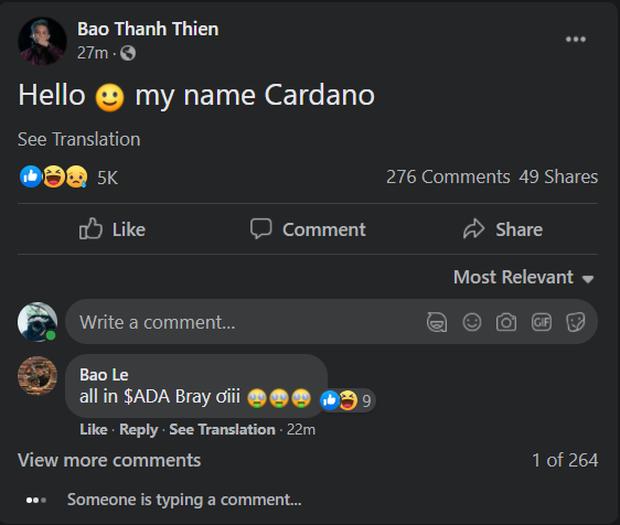 Kênh YouTube EvB Record của rapper Bray bất ngờ bay màu, đổi tên thành Cardano và đang livestream tư vấn mua tiền ảo - Ảnh 4.