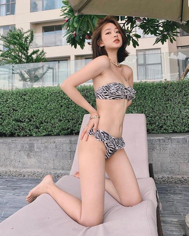 Bạn gái Jaykii khoe thần thái đỉnh cao với bikini, vóc dáng tuy mảnh mai nhưng ai dám nói không sexy ngút ngàn? - Ảnh 2.
