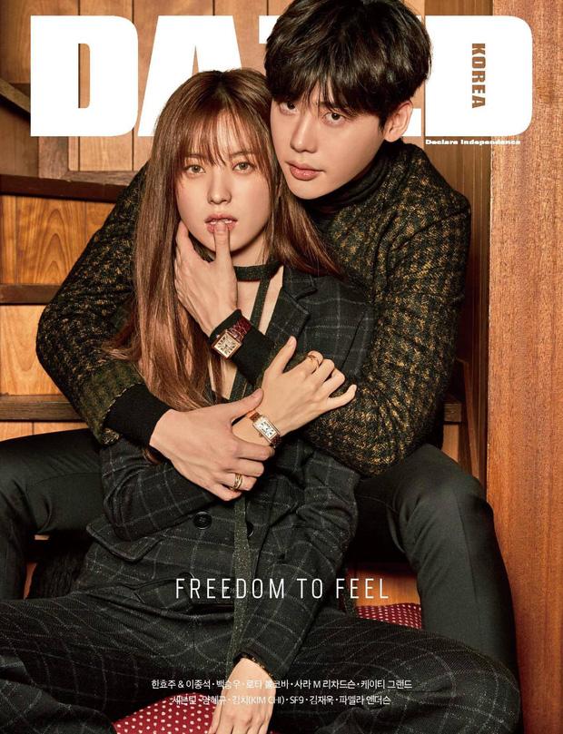 Top ảnh tạp chí đôi đẹp nhất xứ Hàn: Sốc nặng bàn tay hư Yoo Ah In đặt lên body bà cả Thế Giới Hôn Nhân, Hyun Bin - Son Ye Jin đúng huyền thoại - Ảnh 13.